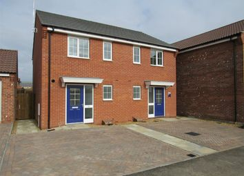 Thumbnail 2 bed semi-detached house to rent in Market Rasen Drive, Bourne, Lincolnshire