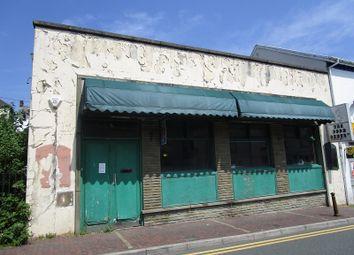 Thumbnail Commercial property for sale in Commercial Street, Ystalyfera, Swansea.