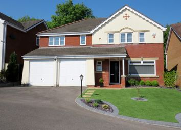 Thumbnail 5 bedroom detached house for sale in Dannog Y Coed, Barry