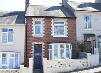 Thumbnail 3 bed terraced house for sale in Clinton Avenue, Lipson, Plymouth