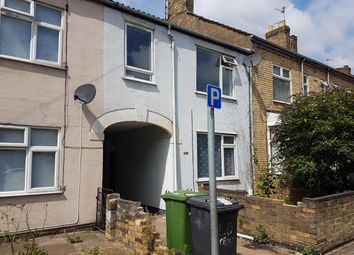 Thumbnail 3 bed terraced house to rent in Cromwell Road, Peterborough