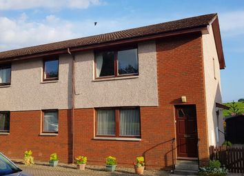 Thumbnail 2 bed flat for sale in Station Court, Murthly