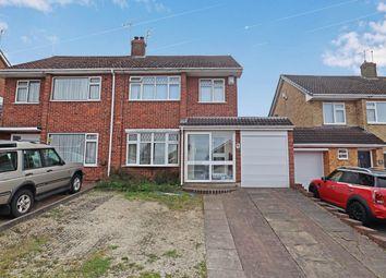 Thumbnail 3 bed semi-detached house for sale in Mendip Drive, Church Farm, Nuneaton