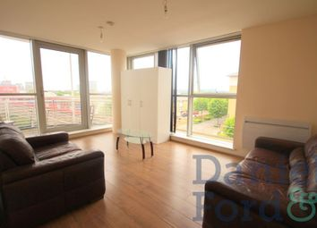 Thumbnail 2 bed flat to rent in Switch House, 4 Blackwall Way, London