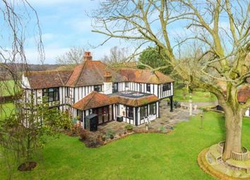 Thumbnail 4 bed detached house for sale in Coxtie Green Road, South Weald, Brentwood, Essex