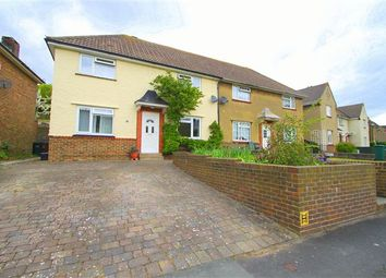 Thumbnail 3 bed semi-detached house for sale in The Avenue, Brighton, East Sussex