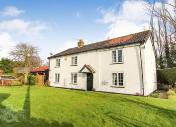 Thumbnail 4 bed cottage for sale in Middle Road, Great Plumstead, Norwich