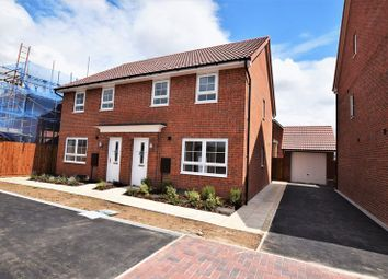 Thumbnail 3 bed semi-detached house to rent in Brutus Court, Lincoln