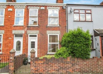 Thumbnail 2 bed terraced house to rent in Colomb Road, Gorleston, Great Yarmouth