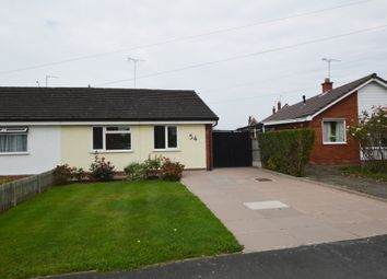 Thumbnail 2 bed semi-detached bungalow to rent in St. James Avenue, Upton, Chester