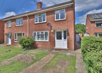 Thumbnail 3 bed semi-detached house for sale in Skelton Close, Diss