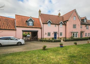 Thumbnail 4 bed town house for sale in Reach Road, Burwell, Cambridge