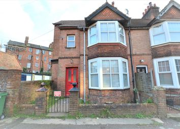 Thumbnail 3 bedroom end terrace house to rent in Springfield Valley, St Leonards-On-Sea