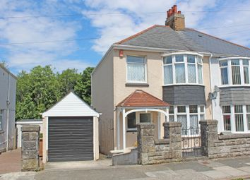 Thumbnail 3 bed semi-detached house for sale in Waverley Road, St Budeaux, Plymouth