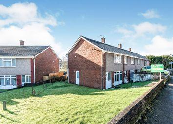 Thumbnail 2 bed end terrace house for sale in Llanllienwen Road, Cwmrhydyceirw, Swansea