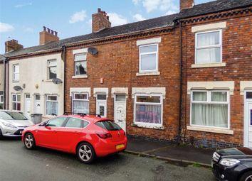 Thumbnail 2 bedroom terraced house for sale in Minshall Street, Fenton, Stoke-On-Trent