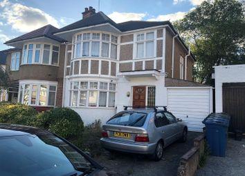 Thumbnail 3 bed property to rent in Christchurch Gardens, Kenton, Harrow