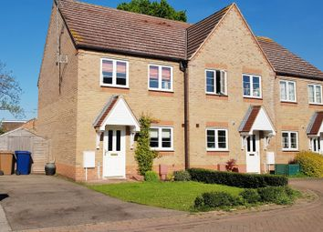 Thumbnail 2 bedroom terraced house for sale in Hazel Close, Chatteris