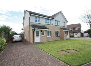 Thumbnail 3 bed semi-detached house for sale in Thornyflat Place, Ayr