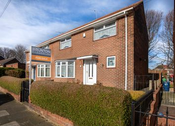 Thumbnail 3 bed semi-detached house for sale in Bosworth Gardens, Newcastle Upon Tyne