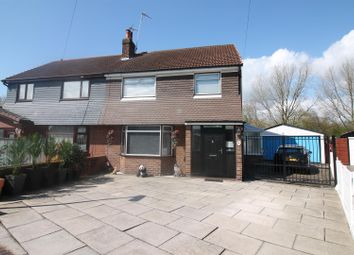 Thumbnail 3 bed semi-detached house for sale in Ripley Crescent, Urmston, Manchester