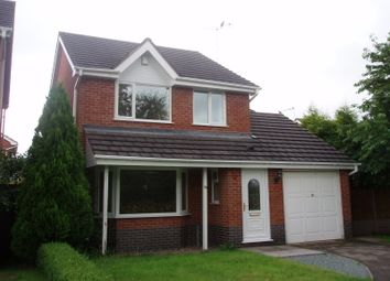 Thumbnail 3 bed detached house to rent in Waterside Drive, Market Drayton