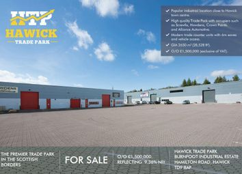 Thumbnail Commercial property for sale in Hamilton Road, Hawick