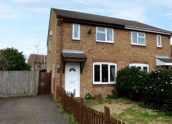 Thumbnail 3 bed semi-detached house to rent in Suffield Close, Long Stratton, Norwich