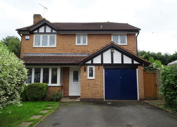 Thumbnail 4 bed detached house to rent in Stainsby Croft, Solihull