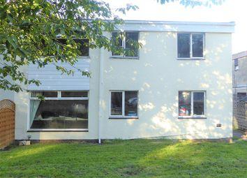 Thumbnail 4 bed semi-detached house for sale in Tairfelin, Wildmill, Bridgend.
