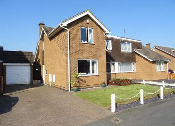 Thumbnail 3 bed semi-detached house for sale in Claremont Drive, Ravenstone, Leicestershire