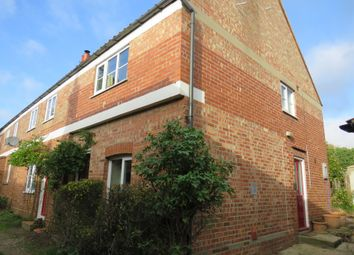 Thumbnail 2 bed end terrace house for sale in The Street, Long Stratton, Norwich