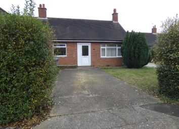 Thumbnail 2 bed bungalow for sale in Peewit Road, Ipswich