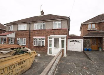 Thumbnail 3 bed semi-detached house for sale in Highbanks Close, Welling