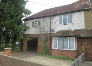 Thumbnail 4 bed semi-detached house to rent in Reading Road, Winnersh