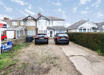 Thumbnail 4 bed semi-detached house for sale in New Dover Road, Capel-Le-Ferne, Folkestone, Kent