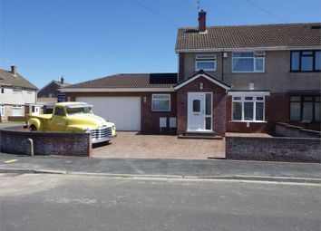 Thumbnail 3 bed semi-detached house for sale in Greenacre Road, Whitchurch, Bristol