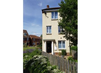 Thumbnail 4 bedroom town house for sale in Cabinet Close, Dereham