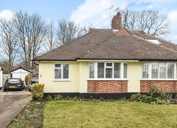 Thumbnail 3 bed semi-detached bungalow for sale in Portway Crescent, Ewell, Epsom