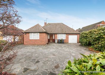 Thumbnail 2 bed detached bungalow for sale in Abbey Road, Chertsey