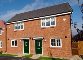 Thumbnail 2 bed terraced house to rent in Runswick Close, Salford
