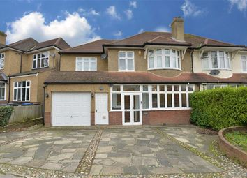 Thumbnail 4 bed semi-detached house for sale in West Way, Croydon, Surrey