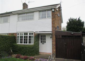 Thumbnail 3 bed semi-detached house for sale in Austen Avenue, Long Eaton, Nottingham