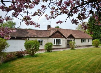 Thumbnail 4 bed detached bungalow for sale in Mucklestone, Nr Market Drayton, Shropshire