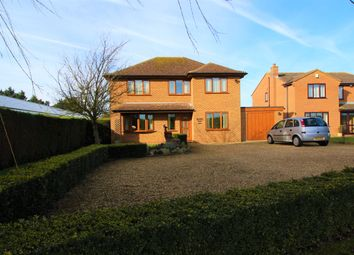 Thumbnail 4 bed detached house for sale in Cradge Bank, Spalding, Lincolnshire