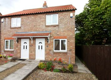 Thumbnail 2 bed property for sale in Cross Keys Court, Cranswick, Driffield