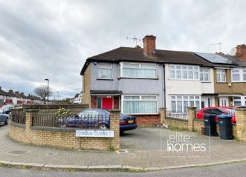 Thumbnail 3 bed end terrace house to rent in Coran Close, London