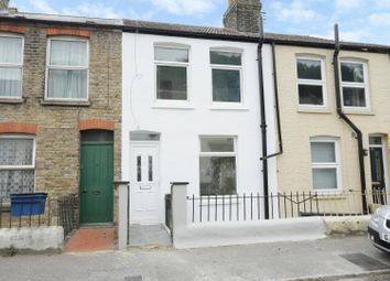 Thumbnail 3 bed terraced house for sale in Percival Terrace, Dover