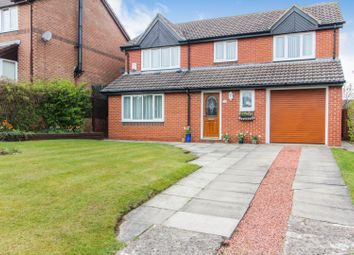 Thumbnail 4 bed detached house for sale in Mereston Close, Hartlepool