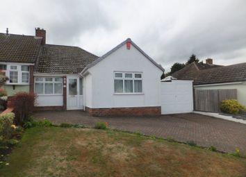 Thumbnail 3 bed semi-detached bungalow for sale in Hillmorton Road, Four Oaks, Sutton Coldfield